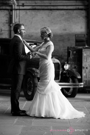 Brooklyn warehouse wedding