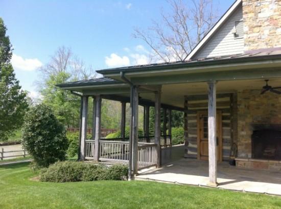 The Greenbrier - Destination Wedding Venue - Howard's Creek Lodge - Elizabeth Duncan Events wedding