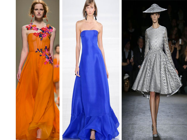 2014 Runway trends colors