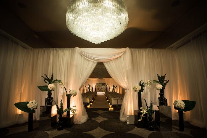 cosmopolitan chic wedding