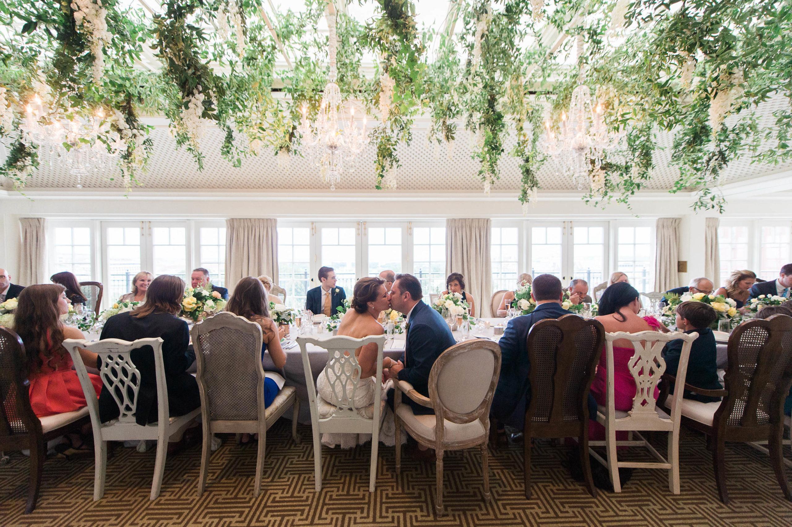 Hay Adams wedding reception