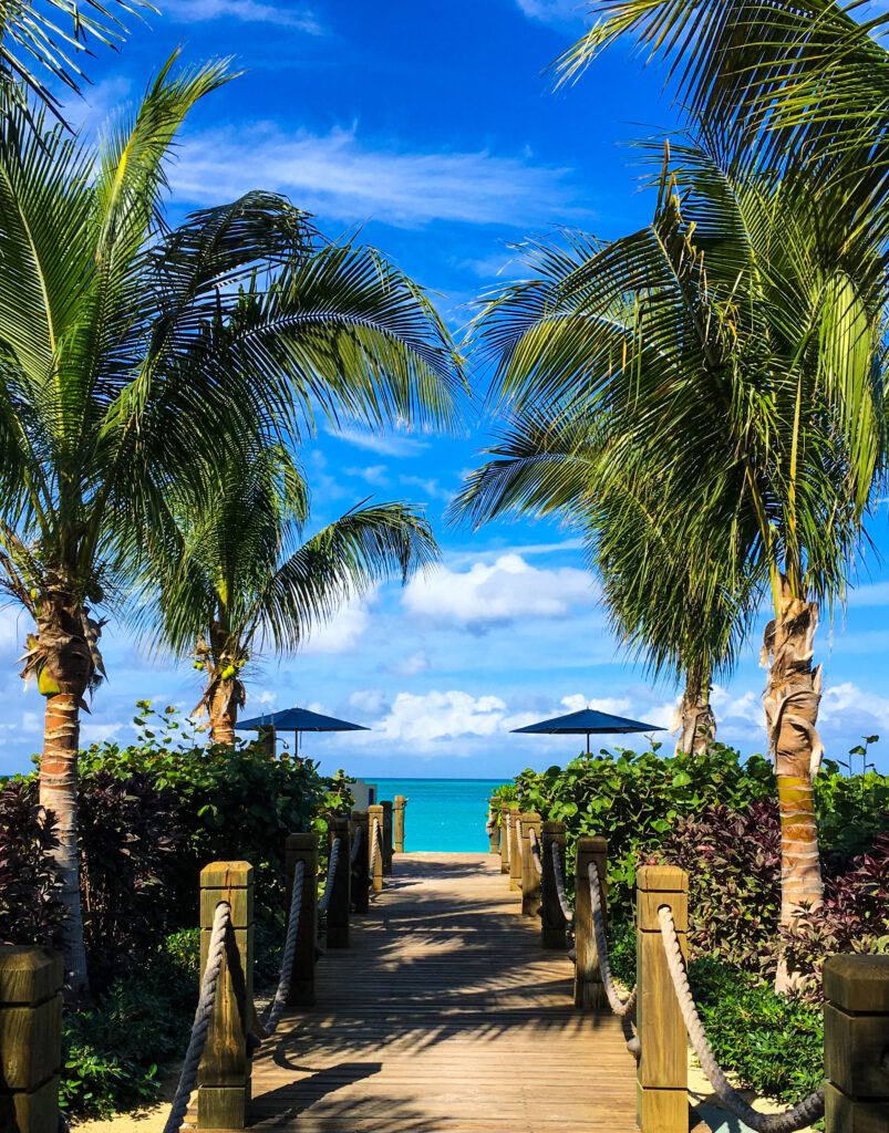 Turks and Caicos beachfront